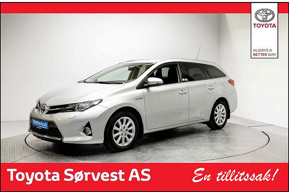 Toyota Auris Touring Sports 1,8 Hybrid Active+  2015, 35 454 km, kr 235 000,-