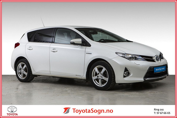 Toyota Auris 1,8 Hybrid E-CVT Active+  2015, 81792 km, kr 189000,-