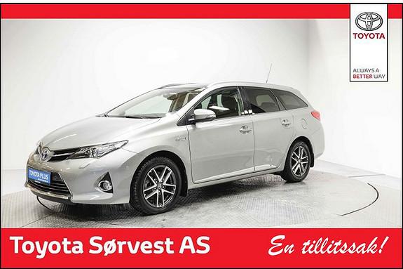 Toyota Auris Touring Sports 1,8 Hybrid Executive Glasstak og krom pk  2015, 23000 km, kr 238000,-