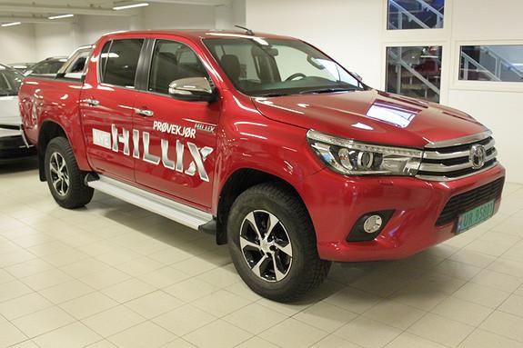 Toyota HiLux D-4D 150hk D-Cab 4WD SR+ aut  2016, 16000 km, kr 419000,-