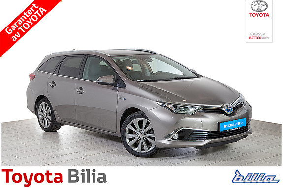 Toyota Auris Touring Sports 1,8 Hybrid Executive automat, navi,  2016, 61 514 km, kr 254 000,-