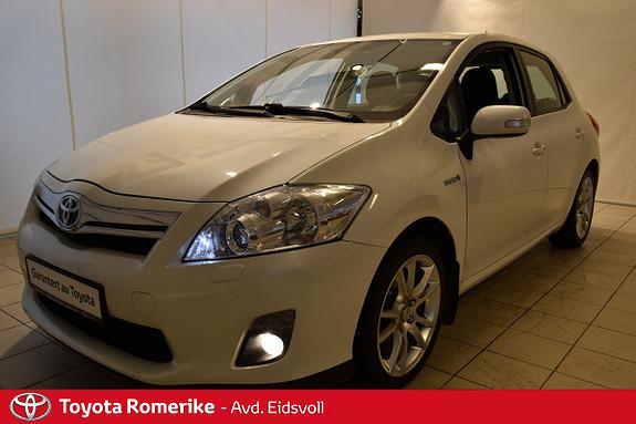 Toyota Auris 1,8 Hybrid Executive HSD Servicehefte>! DAB+  2012, 70500 km, kr 159000,-