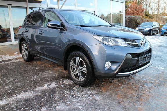 Toyota RAV4 2,2 D-4D 4WD Active  2013, 58300 km, kr 279000,-