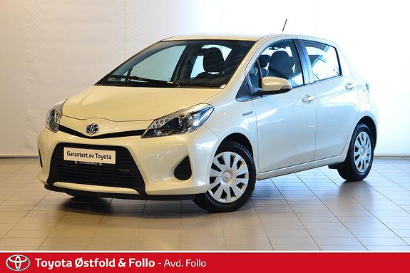 Toyota Yaris 1,5 Hybrid Active  2013, 51136 km, kr 139000,-