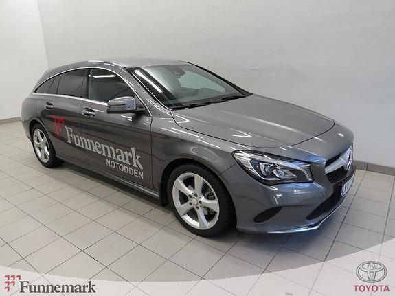 Mercedes-Benz CLA 180d Shooting Brake aut Velutstyrt demobil selges.  2017, 7000 km, kr 379000,-