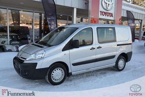 Toyota Proace 2,0 128hk L1H1 (m/bakluke)  2014, 46200 km, kr 169000,-