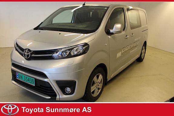 Toyota Proace 1,6 D 115 Comfort L1H1 **VI SELGER VÅR DEMOBIL MED KAV  2016, 7200 km, kr 249000,-