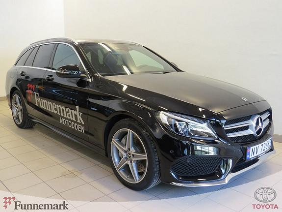 Mercedes-Benz C-Klasse C350e (Plug-In) T Velutstyrt demobil selges  2017, 9000 km, kr 495000,-