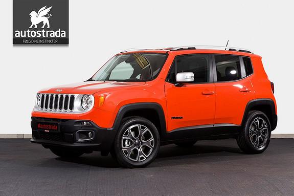 Jeep Renegade 1.4  Aut. AWD Limited Skinn Xenon Navi