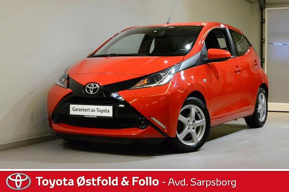 Toyota Aygo x-play 1,0 , DAB+/BLUETOOTH,  2014, 45900 km, kr 108000,-