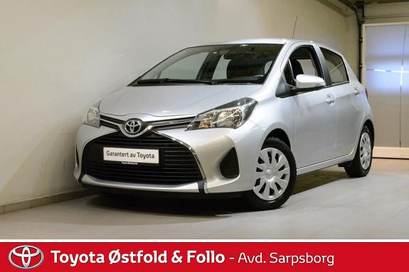Toyota Yaris 1,0 Active , DAB+/NAVIGASJON,  2015, 42900 km, kr 145000,-