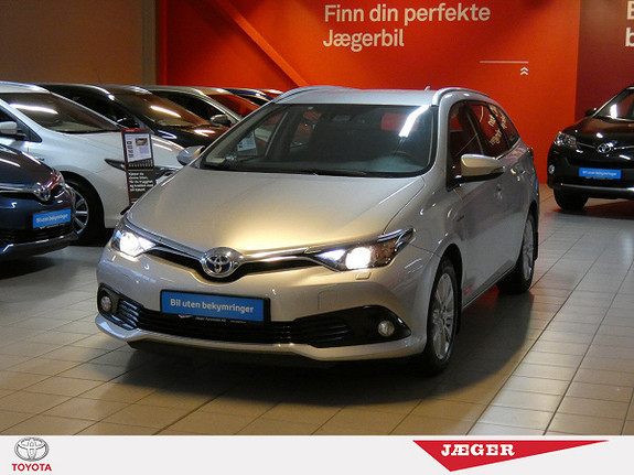 Toyota Auris Touring Sports 1,8 Hybrid Active S  2016, 44 950 km, kr 269 000,-
