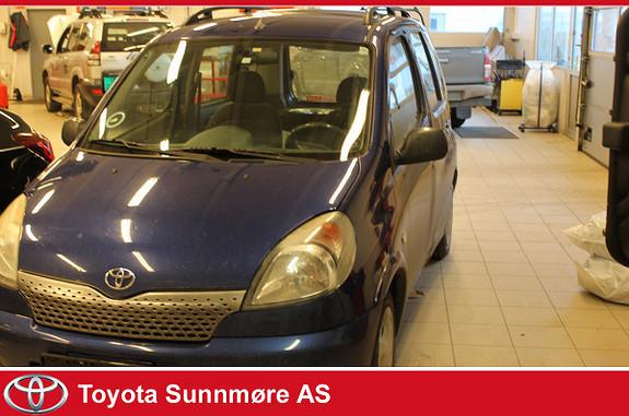 Toyota Yaris Verso 1,3 Sol EU godkjent til Mars 2019  1999, 291783 km, kr 8000,-