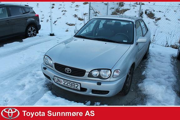 Toyota Corolla 1,4 Linea Te **SELGES BILLIG**VELHOLDT** RING 97089132  2000, 212000 km, kr 10000,-