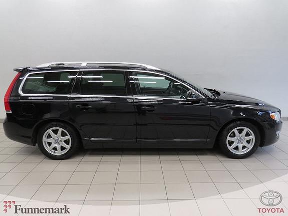 Volvo V70 D2 Summum aut 111g Skinn/ Navi/ Rygges./ Xenon/ DAB+ mm  2014, 72000 km, kr 268000,-