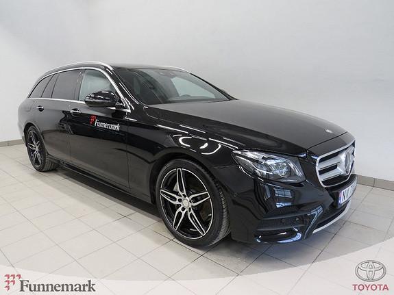 Mercedes-Benz E-Klasse E220d T aut AMG ekst. AMG innt. Velutstyrt demo selges.  2017, 21000 km, kr 649000,-