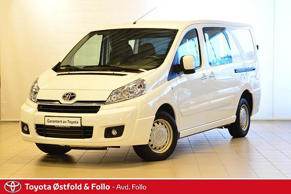 Toyota Proace 2,0 128hk L2H1  2015, 43419 km, kr 189900,-
