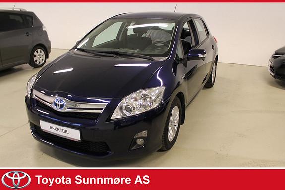 Toyota Auris 1,8 Hybrid Advance HSD **VELHOLDT**AUTOMAT**DAB+**LAV K  2011, 39650 km, kr 135000,-