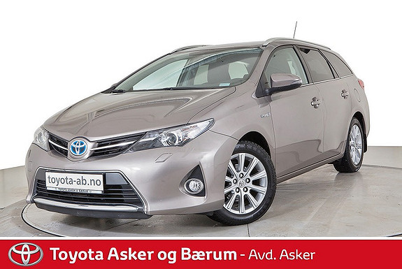 Toyota Auris Touring Sports 1,8 Hybrid Active+  2014, 47 900 km, kr 199 000,-