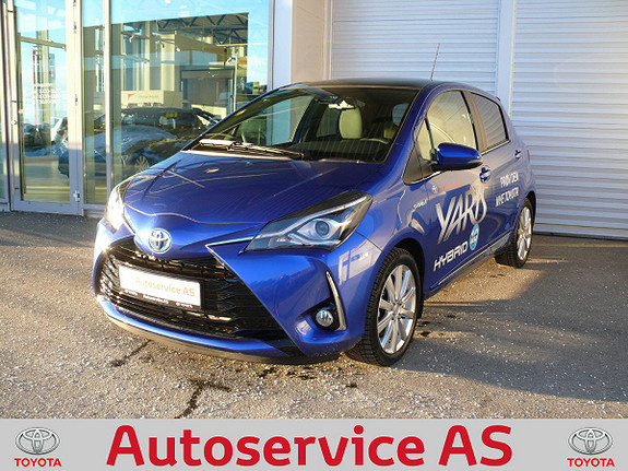Toyota Yaris 1,5 Hybrid Style e-CVT  2017, 2500 km, kr 229000,-