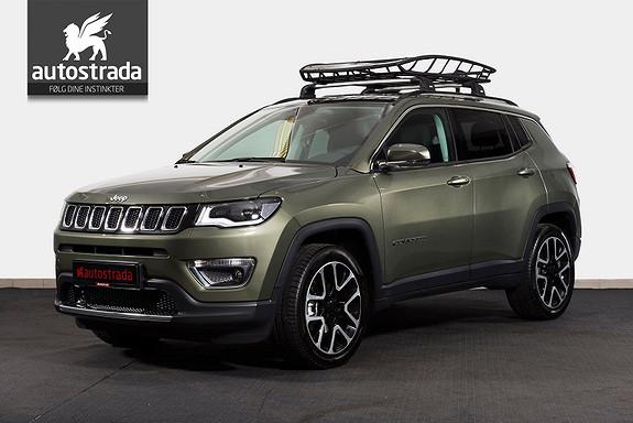 Jeep Compass 1,4MAir 170hk Aut. Limited Skinn ACC Xenon Navi