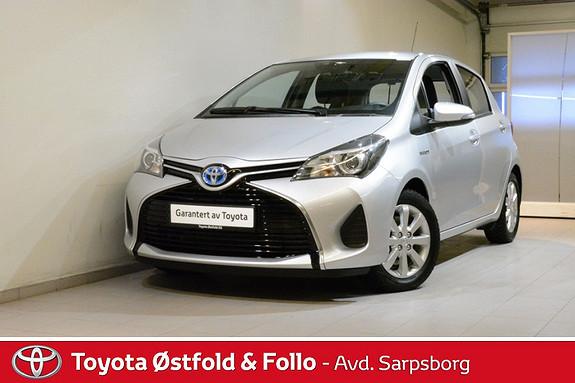 Toyota Yaris 1,5 Hybrid Active e-CVT , DAB+ / NAVI M.M.,  2014, 24400 km, kr 165000,-
