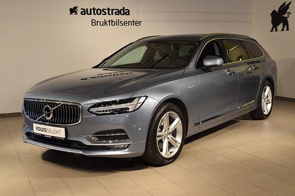 Volvo V90 D4 190hk Inscription aut Baksetepk, Intellisafe, navipk++  2017, 7999 km, kr 579000,-