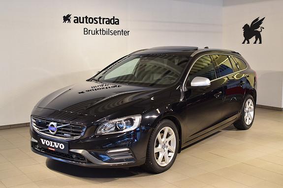 Volvo V60 D2 R-design aut ALT UTSTYR, DAB, Hengerfeste, Webasto,+++  2015, 152142 km, kr 219000,-