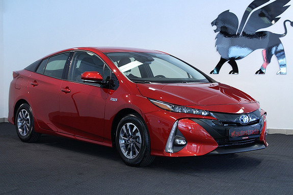 Toyota Prius PHEV Executive skinn DAB NAVI  2017, 30 km, kr 349000,-