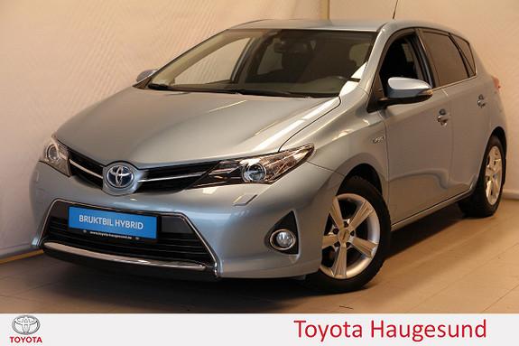 Toyota Auris 1,8 Hybrid E-CVT Active+ NAV, kamera, Bi-Xenon, Tectyl  2014, 42742 km, kr 195000,-
