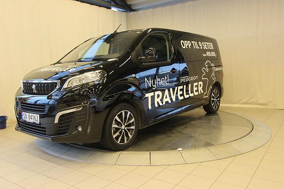 Peugeot Traveller Business L2 2,0 BlueHDI 180hk aut 9seter  2017, 14000 km, kr 599000,-