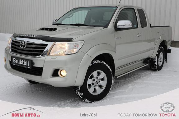 Toyota HiLux D-4D 144hk Extra Cab 4WD SR5 // 1 eier // 1 års garanti  2013, 178000 km, kr 229900,-