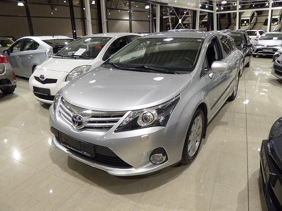 Toyota Avensis 1,8 147hk Advance Multidrive S m/DAB+ og navigasjon  2014, 31621 km, kr 259000,-