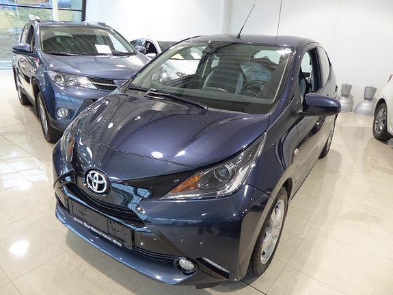 Toyota Aygo x-play 1,0 m/DAB+  2016, 18299 km, kr 129000,-