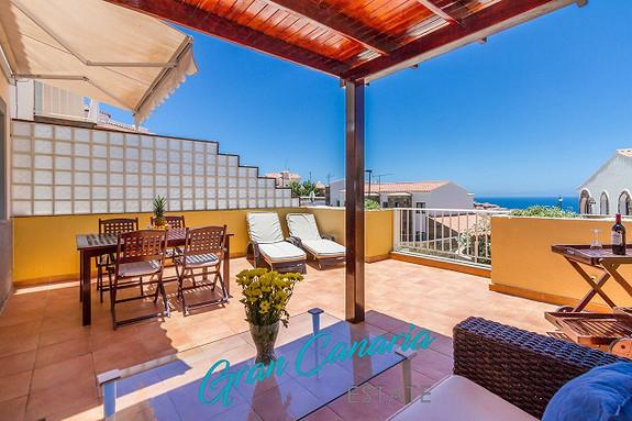 Marina Residencial, Arguineguin - Solfylt sørvest-vendt leilighet med utsikt.