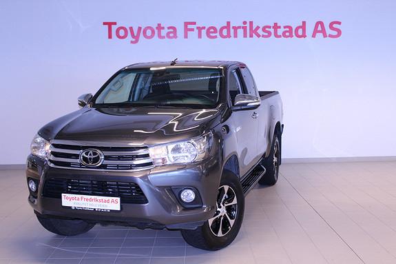 Toyota HiLux D-4D 150hk X-Cab 4WD SR  2017, 45300 km, kr 359000,-