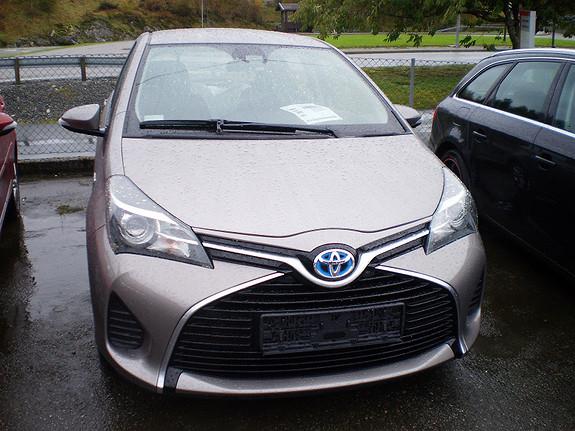 Toyota Yaris Aktiv-S Hybrid  2015, 33000 km, kr 188990,-