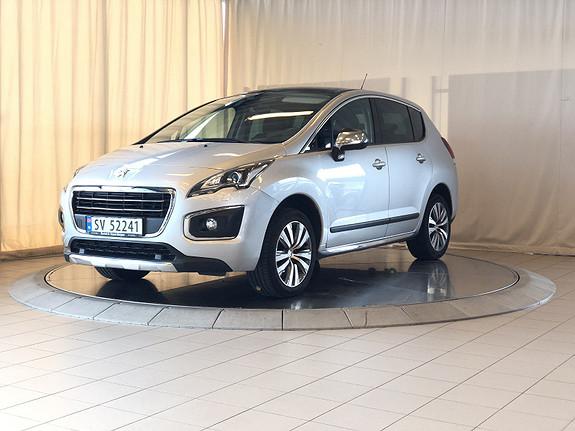 Peugeot 3008 Allure 1,6 e-HDi EMG 115hk  2014, 37000 km, kr 179000,-