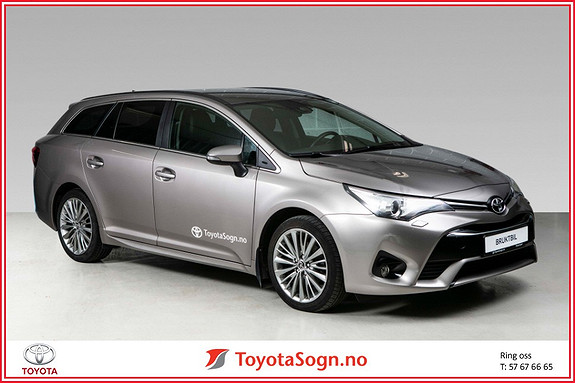 Toyota Avensis 1,6 D-4D Active Style  2015, 70 935 km, kr 239 000,-