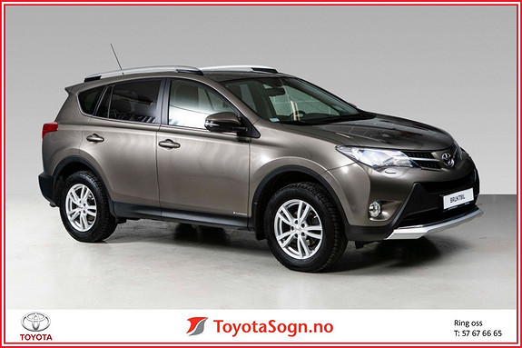 Toyota RAV4 2,0 D-4D 4WD 71'N Editon  2015, 71577 km, kr 299000,-