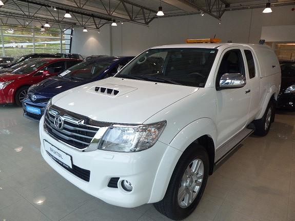 Toyota HiLux D-4D 144hk Extra Cab 4WD SR  2015, 68800 km, kr 269000,-