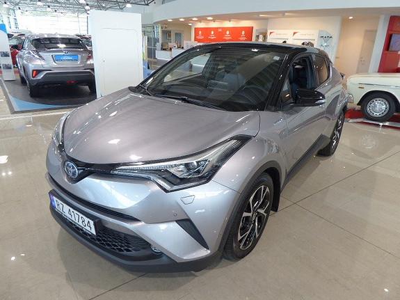 Toyota C-HR 1,8i Hybrid Dynamic Tech m/ skinn og JBL  2018, 17000 km, kr 359000,-