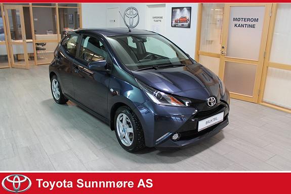 Toyota Aygo x-play 1,0 **LAV KM**VELHOLDT**DAB+**AUTOLYS**RYGGEKAME  2015, 26182 km, kr 109000,-
