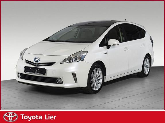 Toyota Prius+ Seven 1,8 VVT-i Hybrid Executive 7 seter automat.  2014, 53500 km, kr 249000,-
