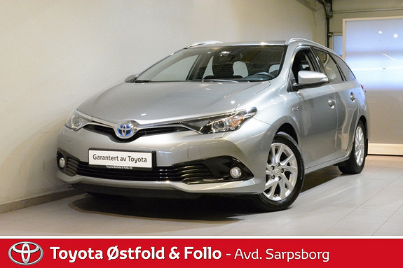 Toyota Auris Touring Sports 1,8 Hybrid Active S , DAB+ / SAFETY SENS  2016, 39 700 km, kr 228 000,-