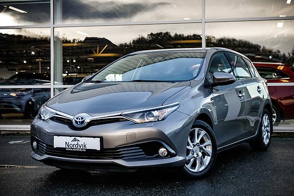 Toyota Auris 1,8 Hybrid E-CVT Active  2016, 53440 km, kr 246000,-