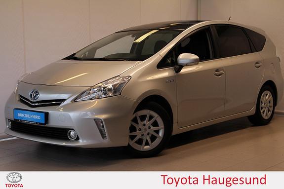 Toyota Prius+ Seven 1,8 VVT-i Hybrid Executive Skyview, Navi, JBL, Tectyl  2012, 101324 km, kr 189000,-