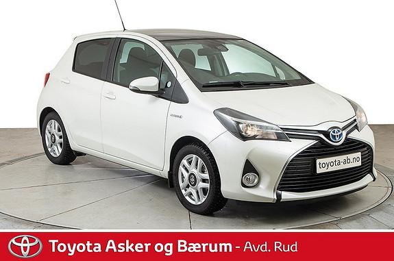 Toyota Yaris 1,5 Hybrid Style  2015, 18000 km, kr 199000,-