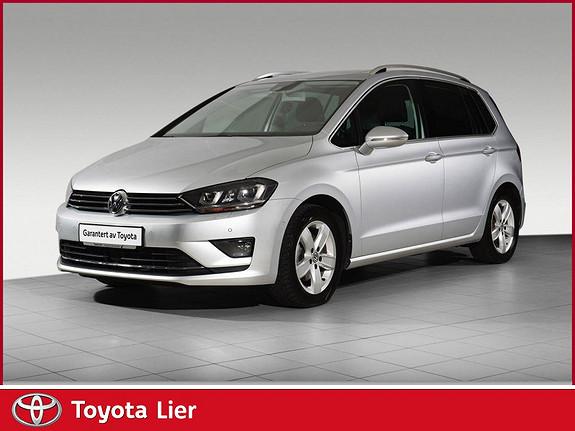 Volkswagen Golf Sportsvan 1,6 TDI 110hk Highline DSG godt utstyrt bil med webasto  2016, 13405 km, kr 259000,-