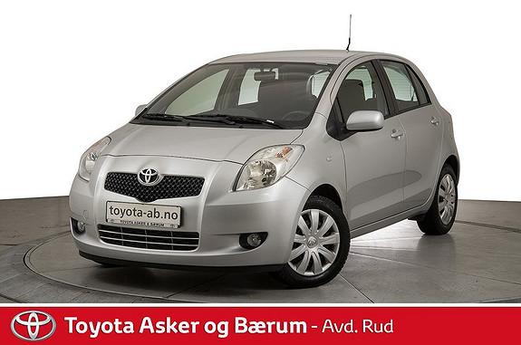 Toyota Yaris 1,3 Sol  2008, 45100 km, kr 99000,-